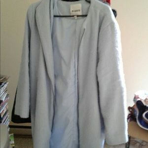 Jackets & Blazers - Baby blue wool coat Medium